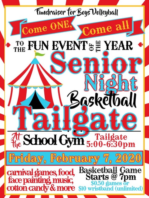 Senior Night Basketball Tailgate
