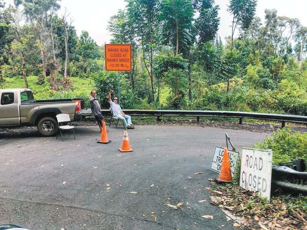 Closed? Tourists stuck on road to Hana