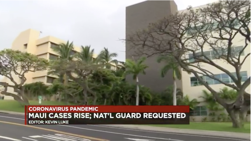 Rural Maui County lawmakers seek National Guard assistance