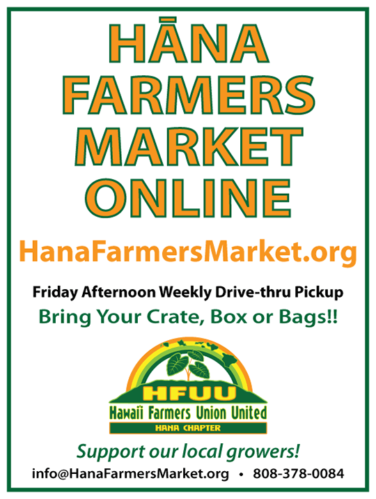 Hana Farmers Market Online Launch