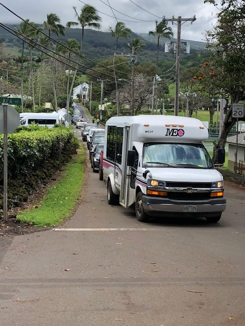 Over 200 Hana residents tested at drive-through COVID-19 site on Friday, April 17
