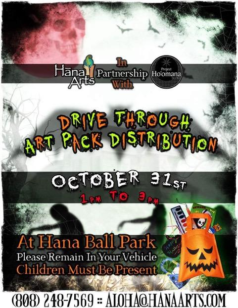 Halloween Drive-Thru ArtPack Distribution