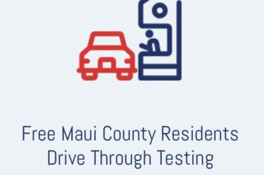 Free Drive-Through COVID-19 Testing set
