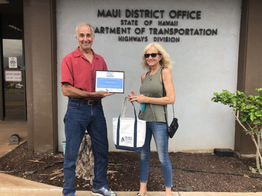 Hāna Lava Tube Group Receives Maui's Adopt-A-Highway Recognition Award