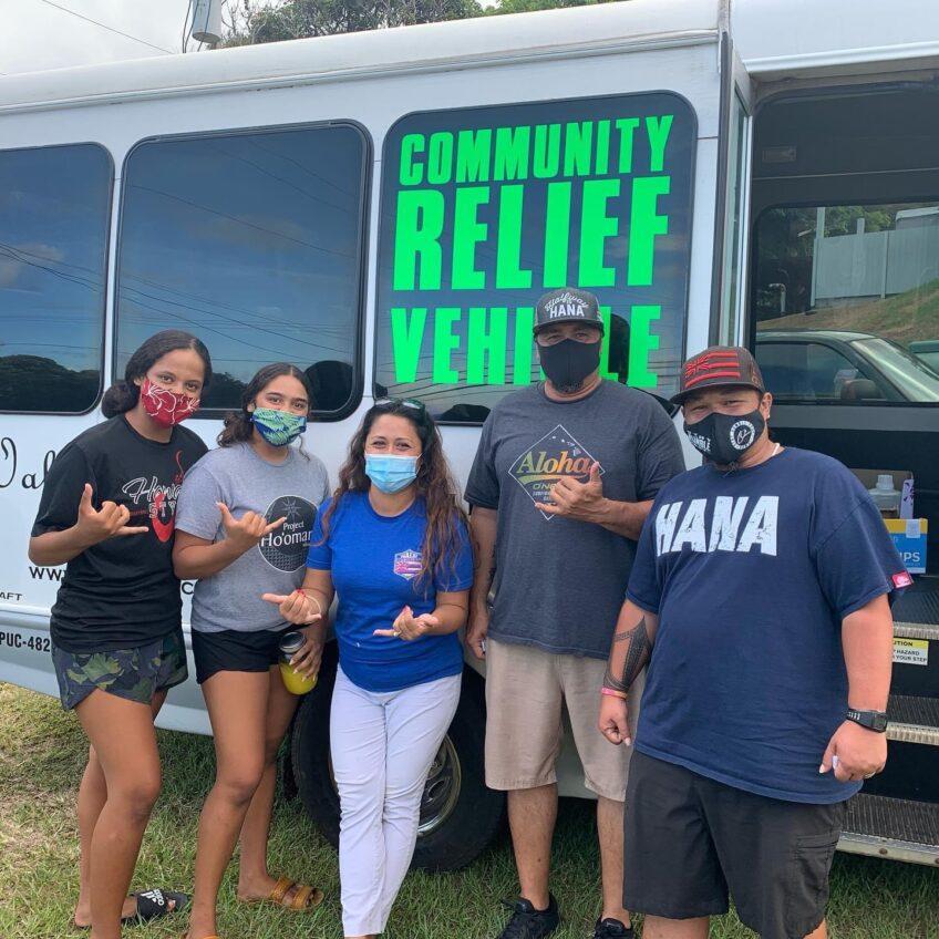 Hana Community Relief Van – Kahului to Hana delivery