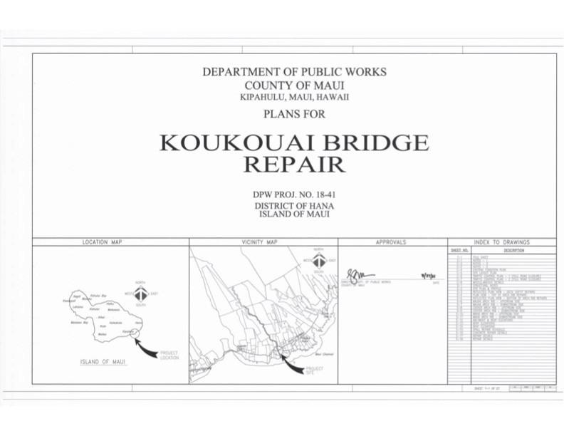 Koukouai Bridge Repair
