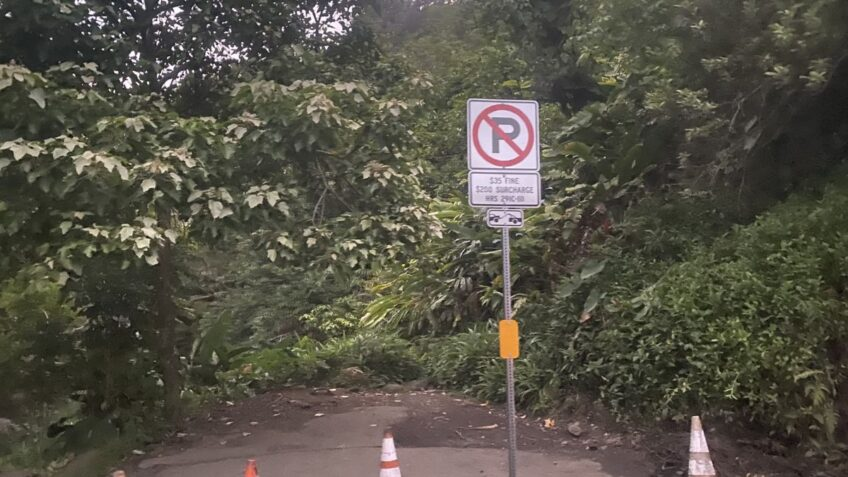Residents: No-parking signs along road to Hana having adverse effects